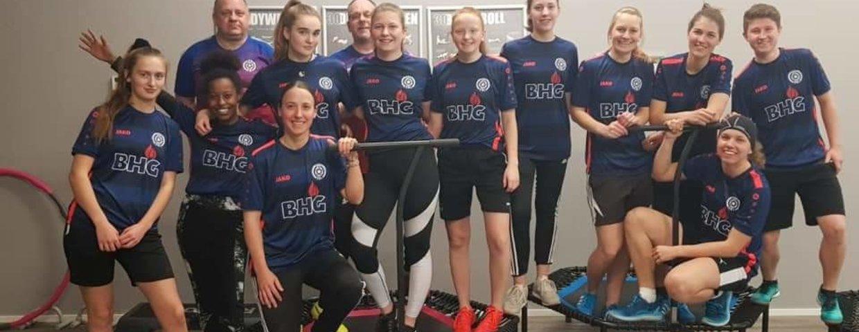 Damenteam gibt im NOW FIT Kufstein Vollgas.