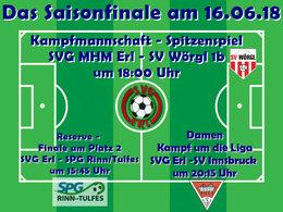 Das Saisonfinale verspricht am kommenden Samstag in Erl drei packende Spiele!