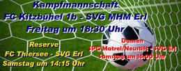 Kampfmannschaft gastiert zum Spitzenspiel in Kitzbühel. Die Reserve muss zum FC Thiersee und die Damen müssen zum Tabellenvierten SPG Matrei/Neustift.