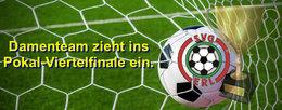 SVG-Damen ziehen ins Cup-Viertelfinale ein.